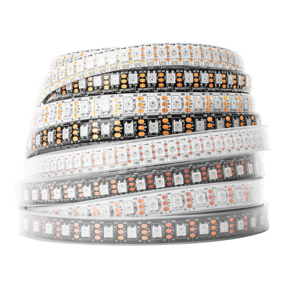 5m Addressable RGB LED Strip (WS2812B) - Various Options (30/60 LED)