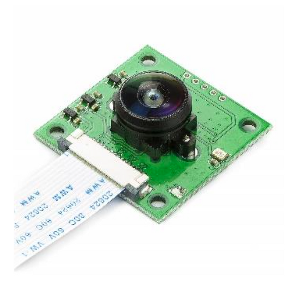Arducam Raspberry Pi Camera - 5MP OV5647 with LS-40180 (180° Fisheye Lens)