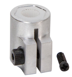 ServoCity 24 Tooth Spline Servo to Shaft Coupler (Choose Size)