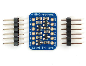 4-channel I2C-safe Bi-directional Logic Level Converter - BSS138 Image