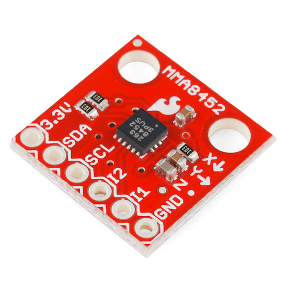 Triple Axis Accelerometer Breakout - MMA8452Q Image