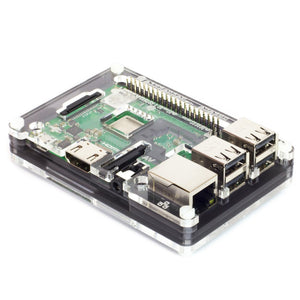 Coupé Ninja Pibow 3 B+ (Case for Raspberry Pi 3 B+, 3, & 2) Image