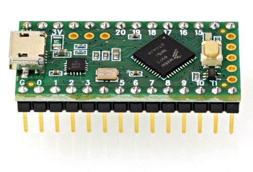 Teensy LC with Header Pins