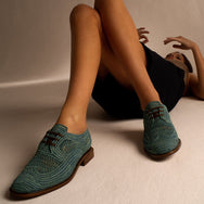 DERBIES JAPAILLE, LIGHT BLUE