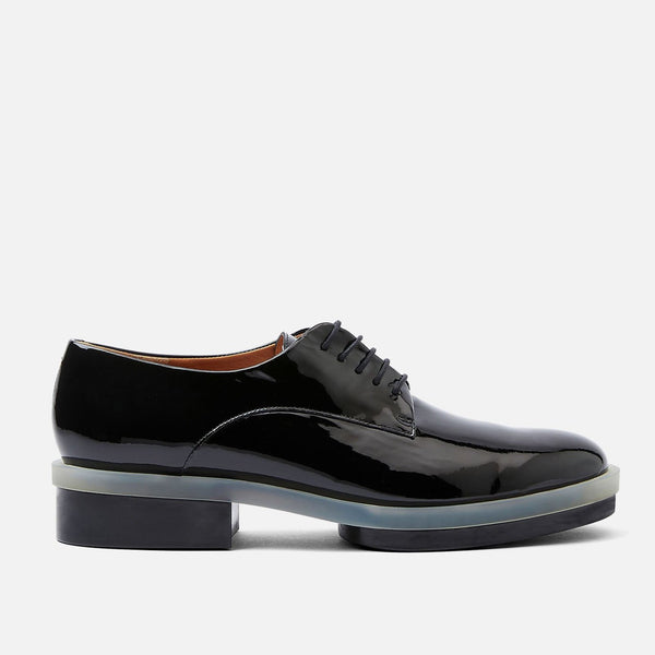clergerie - ROMA DERBIES, BLACK PATENT