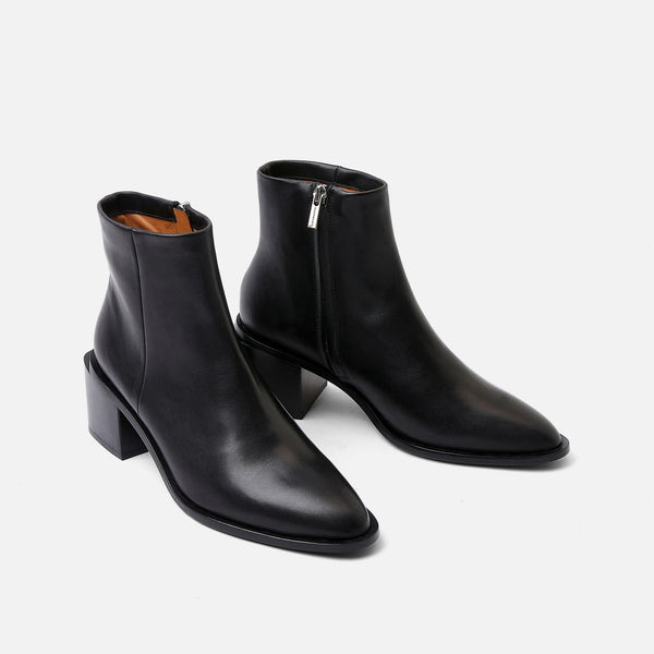 clergerie - XENIA ANKLE BOOTS, BLACK