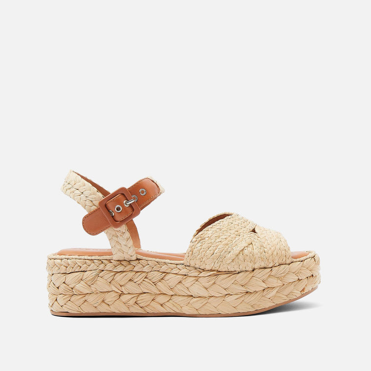 clergerie - LAST CHANCE || AIDA SANDALS, NATURAL