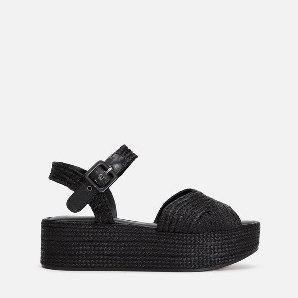 clergerie - ARUBA SANDALS, BLACK