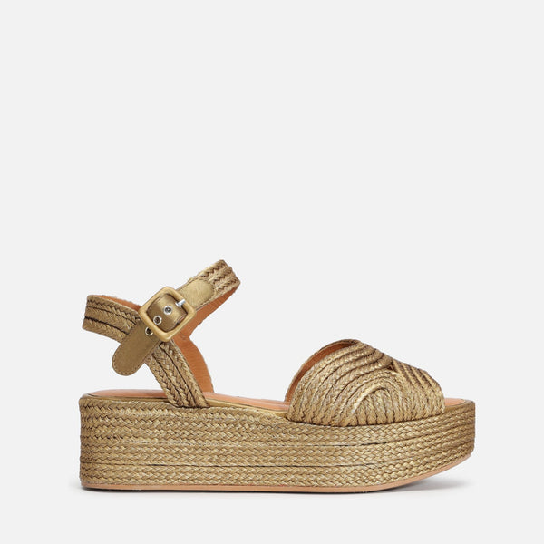 clergerie - ARUBA SANDALS, GOLD