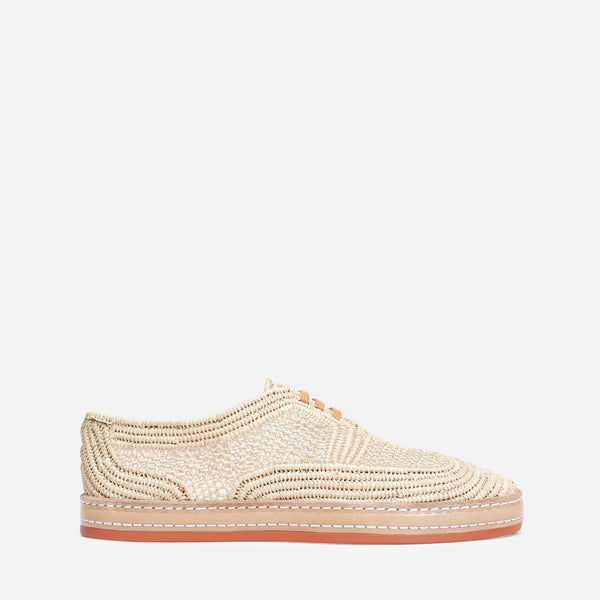 clergerie - ALINE SNEAKERS, NATURAL