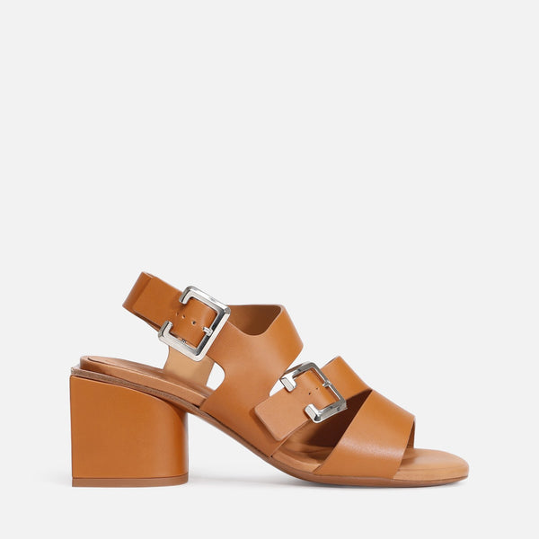 clergerie - LAST CHANCE || ELLIE SANDALS, CAMEL