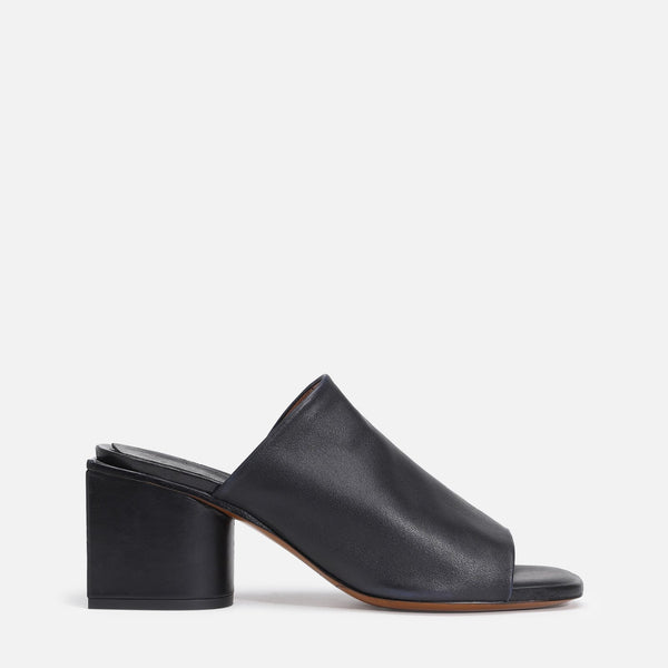 clergerie - EDITH MULES, BLACK