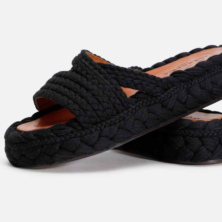clergerie - ICE MULES, BLACK