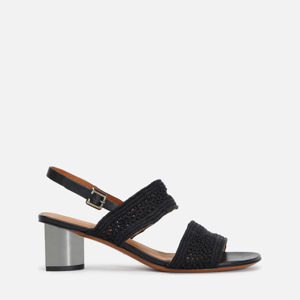 clergerie - LAST CHANCE || LEANA SANDALS, BLACK