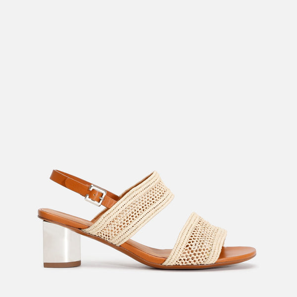 clergerie - LEANE SANDALS, NATURAL