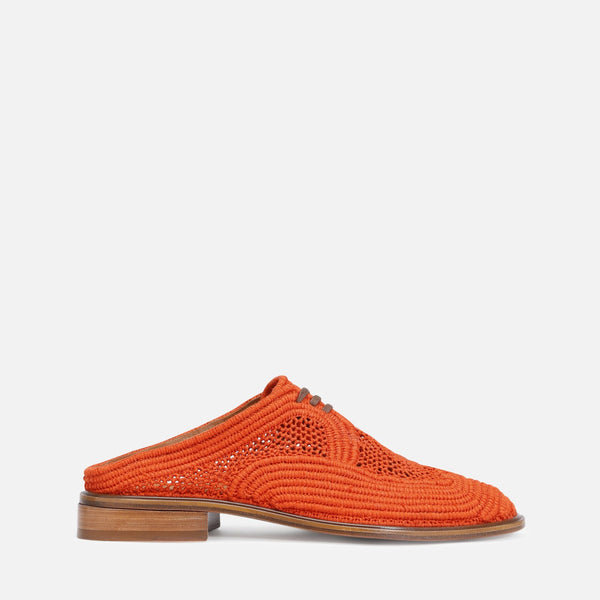 clergerie - JUNE MULES, ORANGE