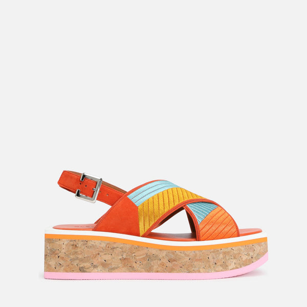 clergerie - URGA SANDALS, MULTICOLOR