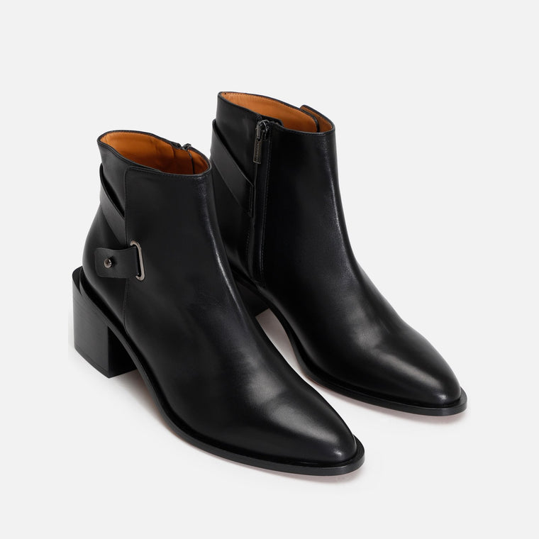 clergerie - XINGAR ANKLE BOOTS, BLACK