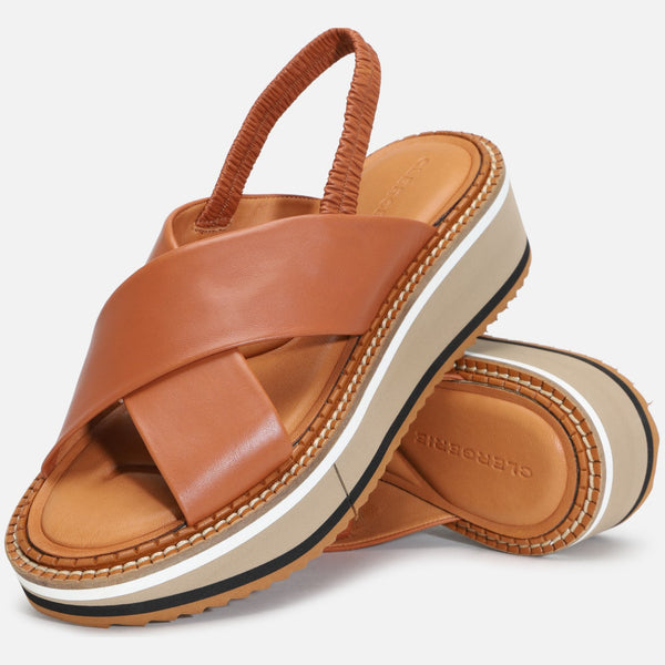 clergerie - SANDALS FREEDOM, CAMEL