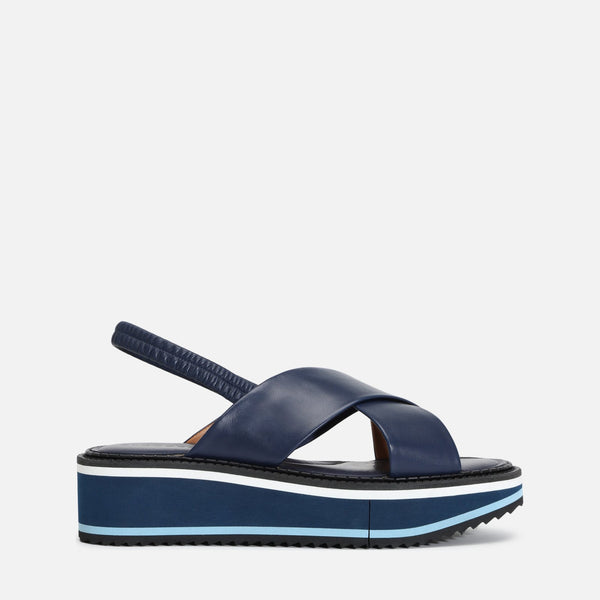 clergerie - FREEDOM SANDAL, NAVY