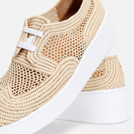clergerie - TAILLE SNEAKERS, NATURAL