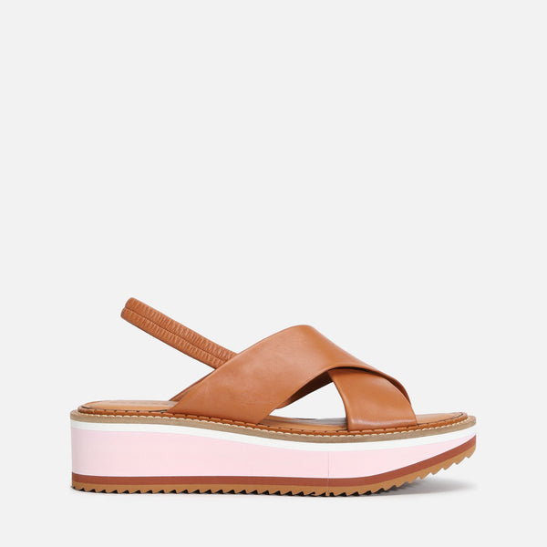 clergerie - LAST CHANCE || FREEDOM SANDALS, CAMEL