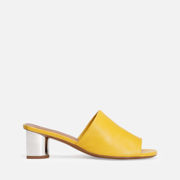 clergerie - LEA MULES, YELLOW