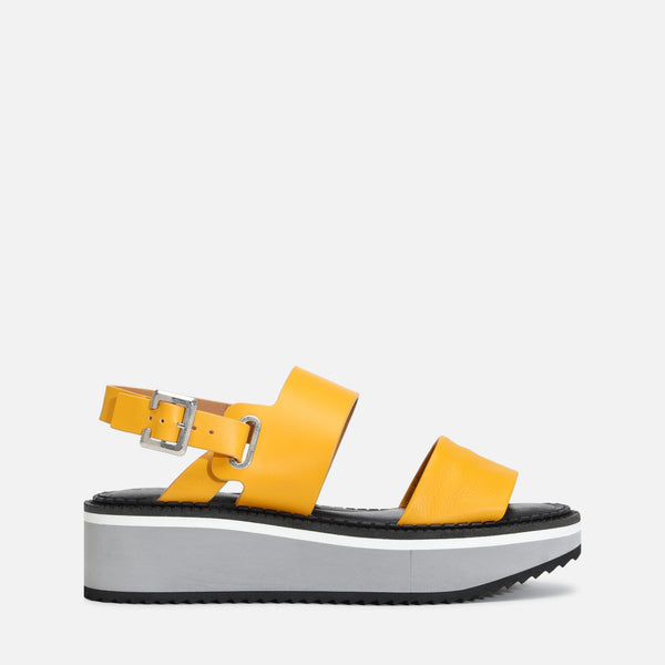 clergerie - FLEUR SANDALS, YELLOW