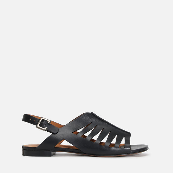 clergerie - ISAURA SANDALS, BLACK