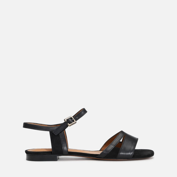 clergerie - LAST CHANCE || IZZIE SANDALS, BLACK