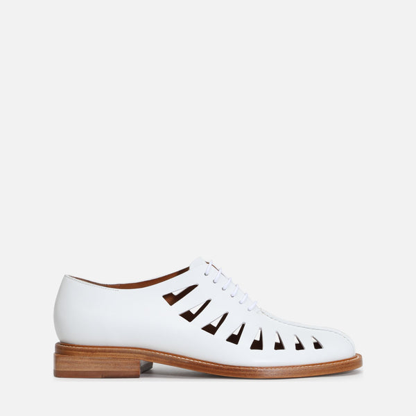 clergerie - RAPHAEL DERBIES, WHITE