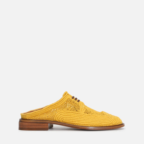 clergerie - JUNE MULES, YELLOW