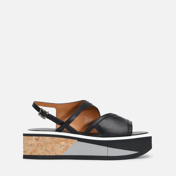 clergerie - UMY SANDALS, BLACK