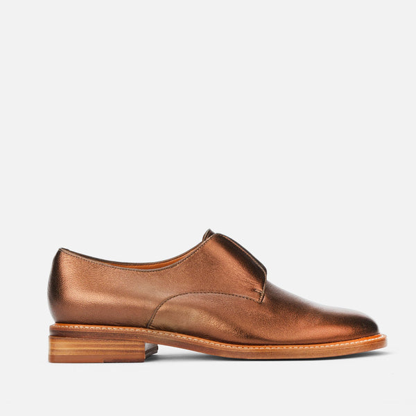 clergerie - DERBIES RAYANE, COPPER