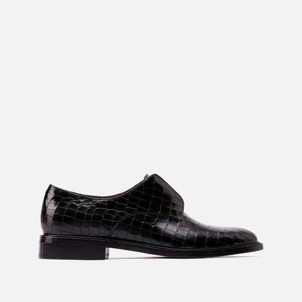 clergerie - DERBIES RAYANE, BLACK CROC
