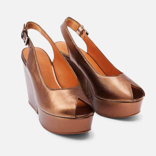 clergerie - SANDALS DYLAN, COPPER