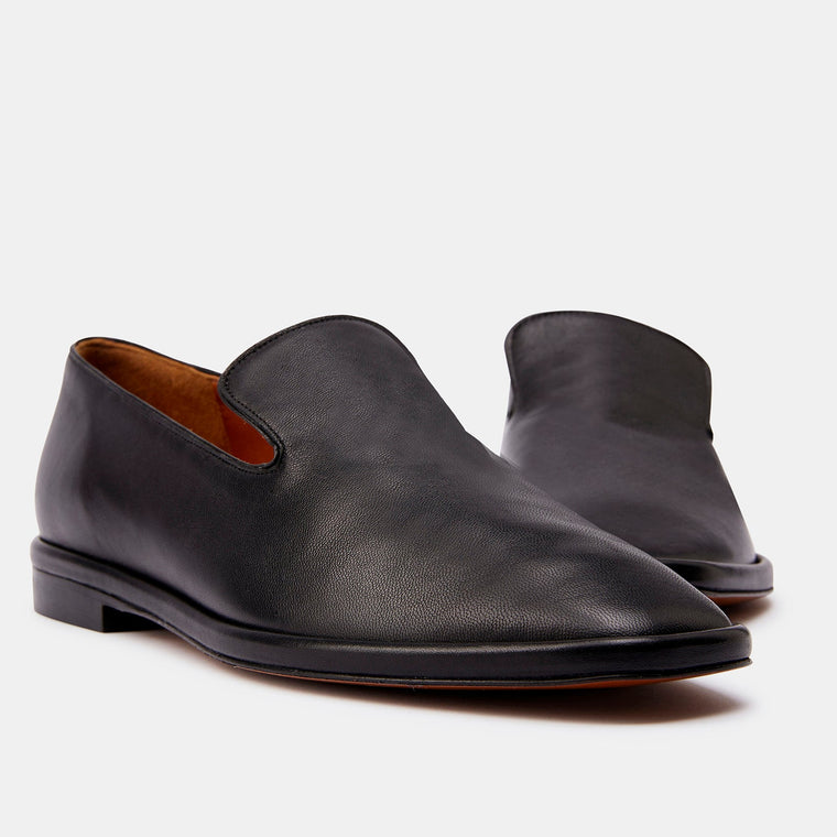 clergerie - LOAFERS OLYMPIA, BLACK LAMB