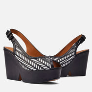clergerie - SANDALS DAFNE, BLACK