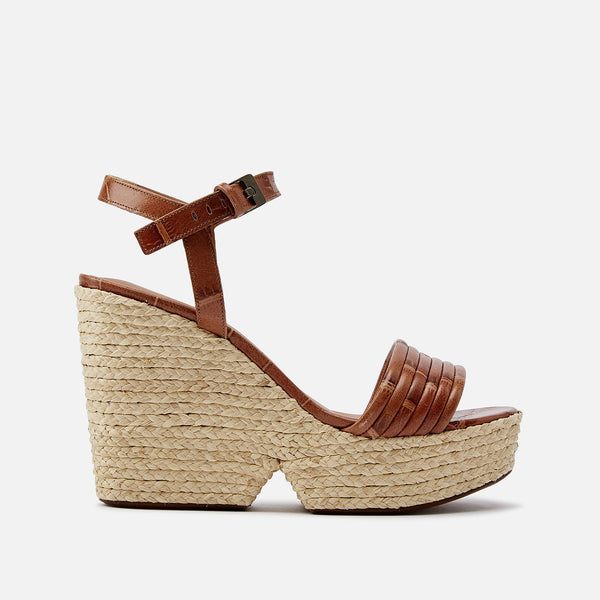 clergerie - SANDALS DANE, CAMEL