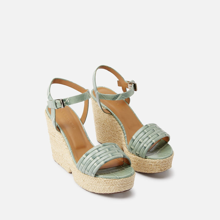 clergerie - SANDALS DANE, GREEN