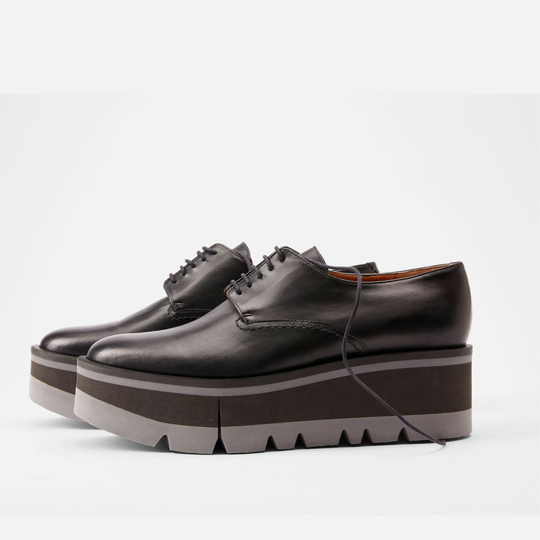 clergerie - DERBIES BRADIE, BLACK