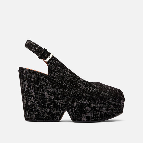 clergerie - SANDALS DYLAN, BLACK GRAPH