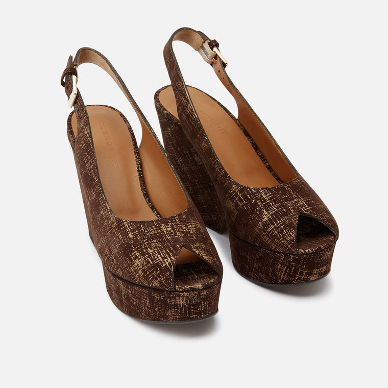 clergerie - SANDALS DYLAN, BROWN
