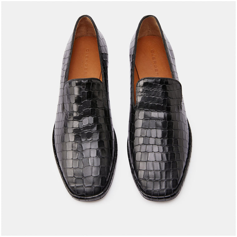 clergerie - LOAFERS OLYMPIA, BLACK