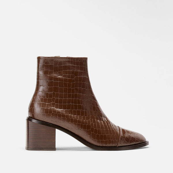 clergerie - ANKLE BOOTS XIANA, BROWN