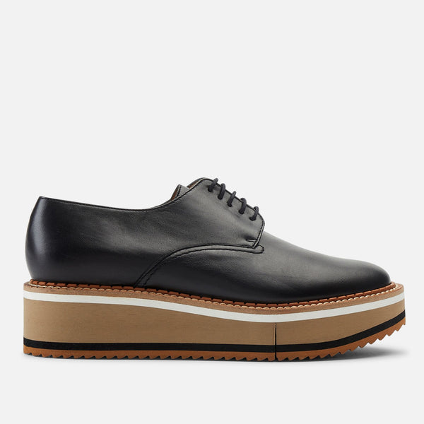 clergerie - DERBIES BROOK, BLACK & NUDE