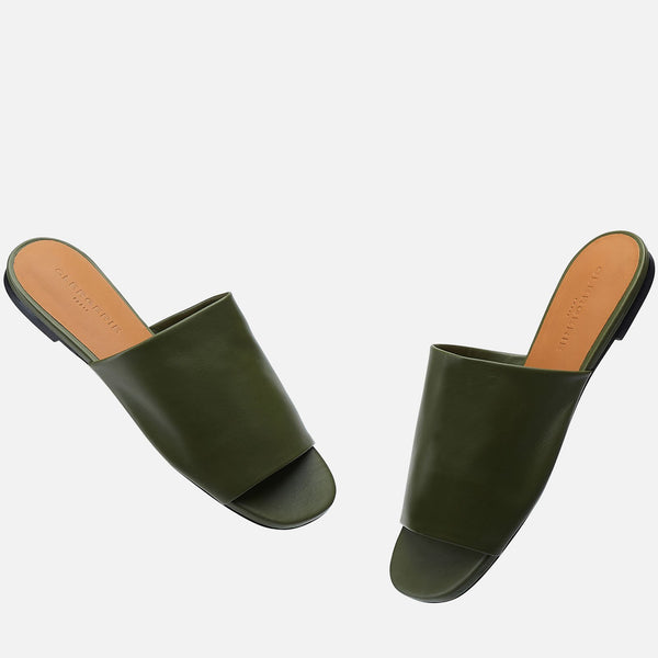 clergerie - MULES ITOU, GREEN