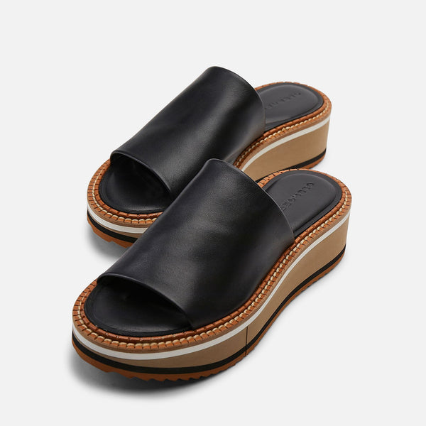 clergerie - MULES FAST, BLACK & NUDE