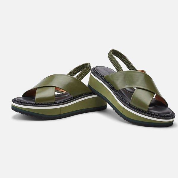 clergerie - SANDALS FREEDOM, GREEN