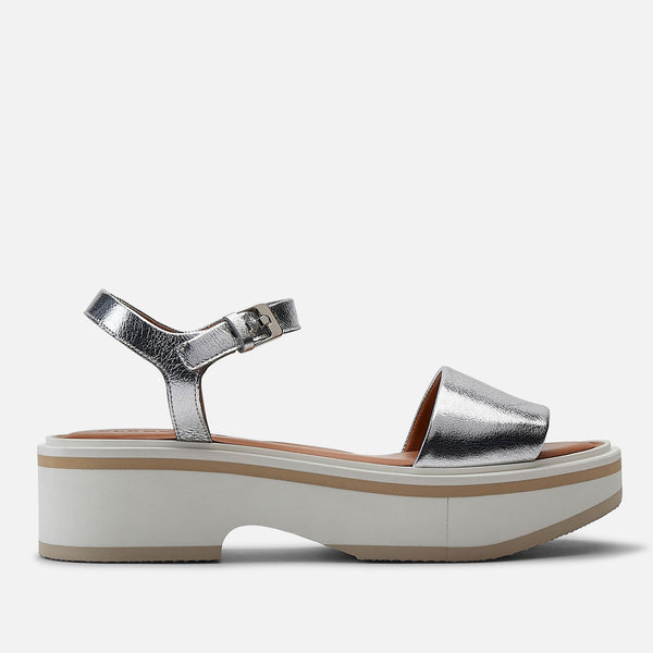 clergerie - SANDALS FIONA, SILVER